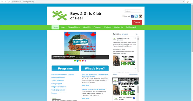 Boys & Girls Club of Peel