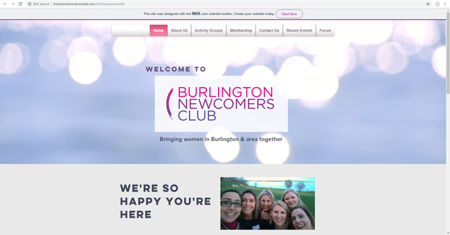 Burlington Newcomers Club