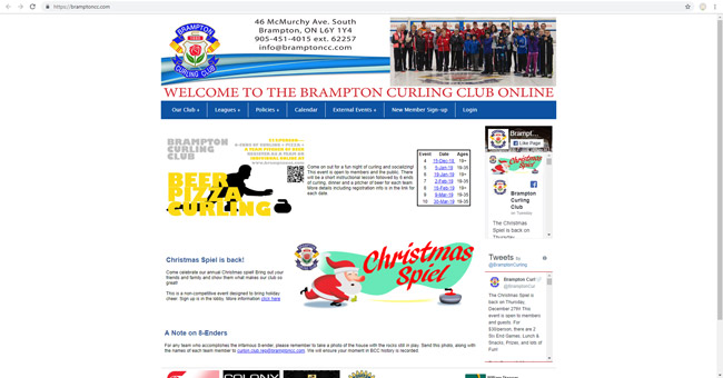 Brampton Curling Club