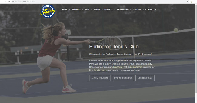 Burlington Tennis Club