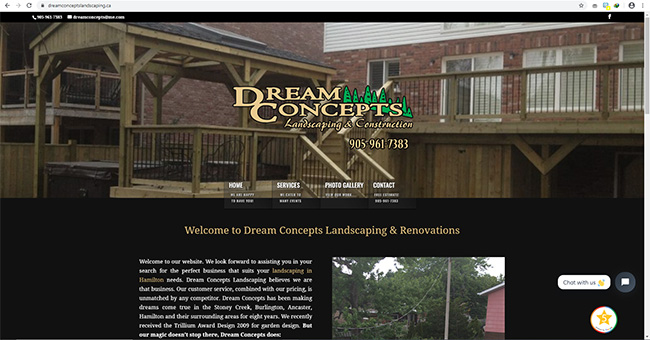 Dream Concepts Landscaping