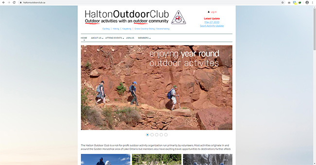 The Halton Outdoor Club