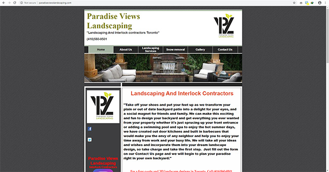 Paradise Views Landscaping